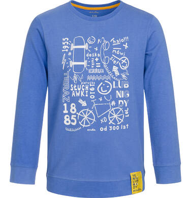 Endo - T-shirt z długim rękawem dla chłopca 3-8 lat C92G124_1