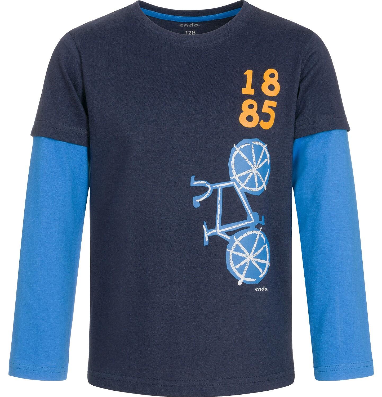 Endo - T-shirt z długim rękawem dla chłopca 3-8 lat C92G122_1