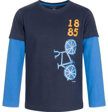 T-shirt z długim rękawem dla chłopca 3-8 lat C92G122_1