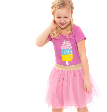 Endo - Tiulowa spódnica dla dziewczynki 3-8 lat D91J021_1