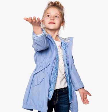 Endo - Parka z odpinaną kamizelką dla dziewczynki 3-8 lat D81A005_2