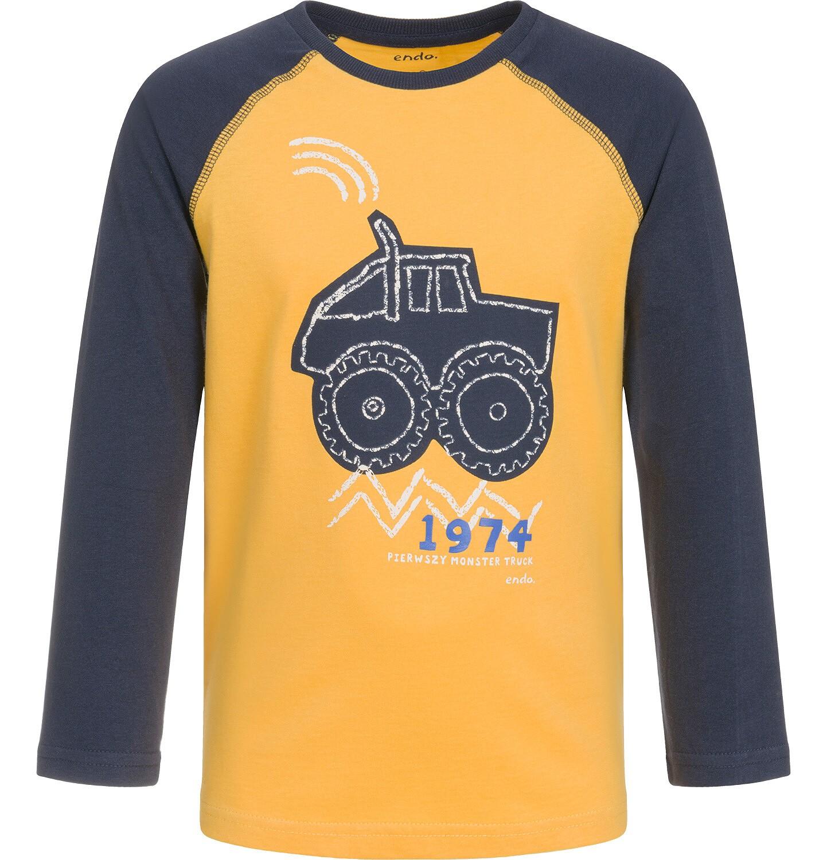 Endo - T-shirt z długim rękawem dla chłopca 3-8 lat C92G083_1