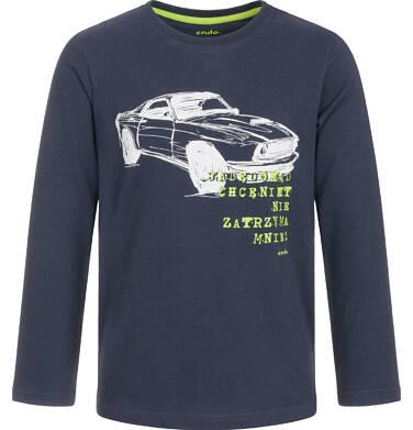Endo - T-shirt z długim rękawem dla chłopca 3-8 lat C92G069_1