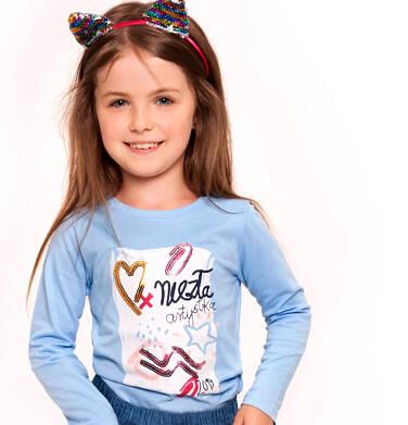Endo - T-shirt z długim rękawem dla dziewczynki 3-8 lat D92G051_1