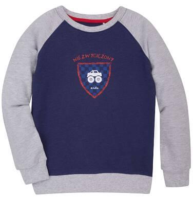 Endo - Bluza reglanowa przez głowę dla chłopca 9-13 lat C72C504_1