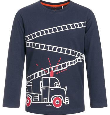 Endo - T-shirt z długim rękawem dla chłopca 3-8 lat C92G062_1