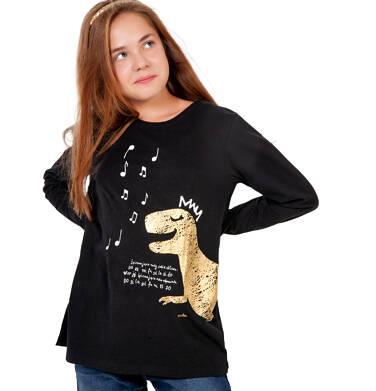 Endo - Bluzka z długim rękawem dla dziewczynki, z dinozaurem, 9-13 lat D04G114_1 4