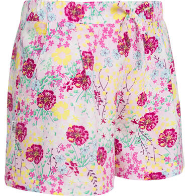 Endo - Krótkie spodenki dla dziewczynki, deseń w kwiaty, 2-8 lat D03K055_1 22