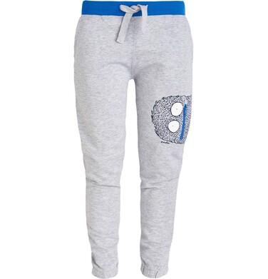 Endo - Spodnie dresowe z nadrukiem dla chłopca 3-8 lat C81K010_1