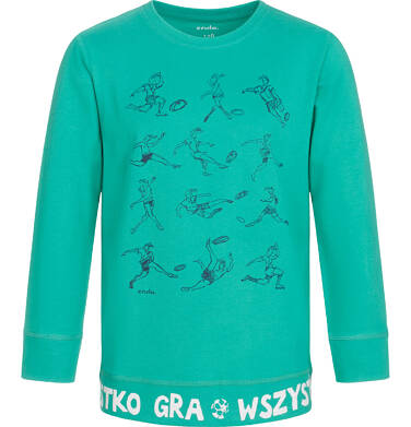 Endo - T-shirt z długim rękawem dla chłopca 3-8 lat C92G030_1