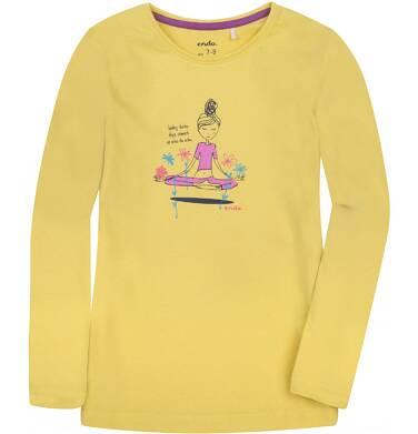 Endo - Bluzka z długim rękawem  dla dziewczynki 9-13 lat D72G588_1