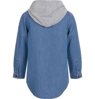 Endo - Koszula jeansowa z kapturem dla chłopca 3-8 lat C92F002_1