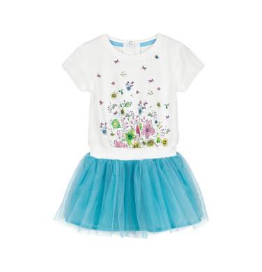 Sukienka dla dziecka 0-3 lata N91H026_1