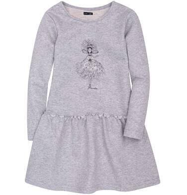 Endo - Sukienka ze srebrną nitką dla dziewczynki 9-13 lat D72H530_1