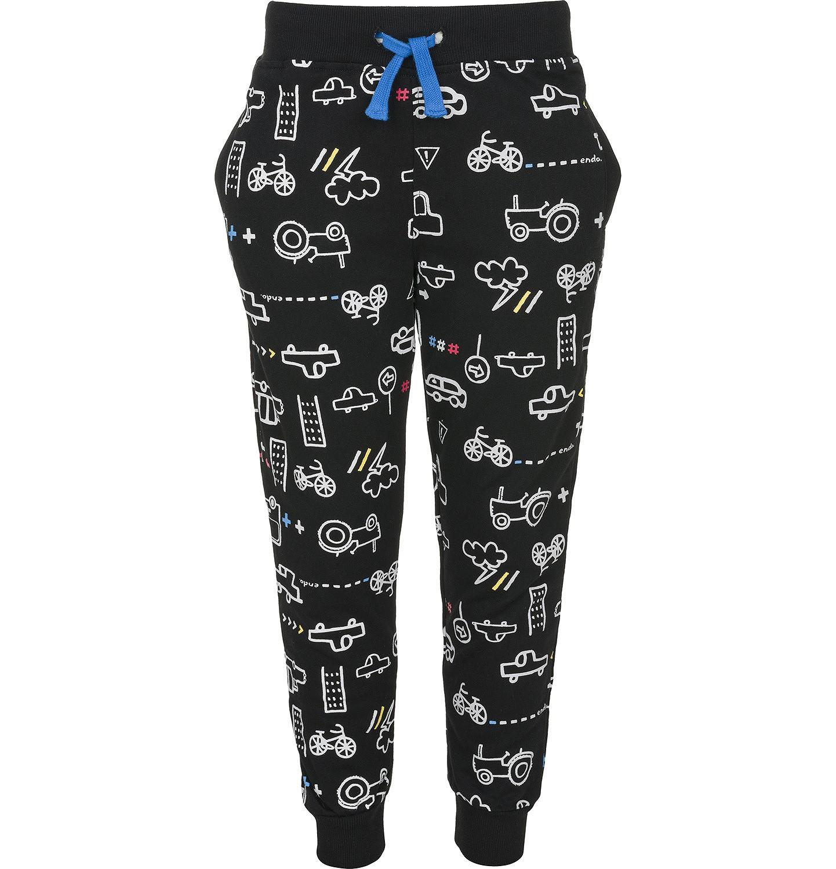 Endo - Spodnie dresowe długie dla chłopca 9-13 lat C91K555_1