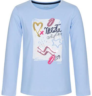Endo - T-shirt z długim rękawem dla dziewczynki 9-13 lat D92G551_1