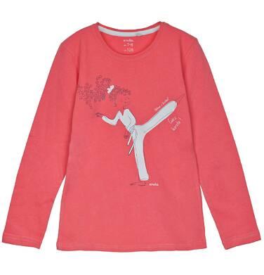 Endo - Bluzka z długim rękawem dla dziewczynki 3-8 lat D62G132_2