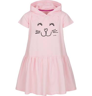 Endo - Sukienka z krótkim rękawem dla dziewczynki 9-13 lat D91H532_1