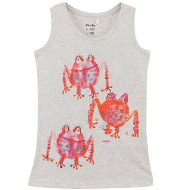 Endo - Bluzka na ramiączkach dla dziewczynki D61G154_1