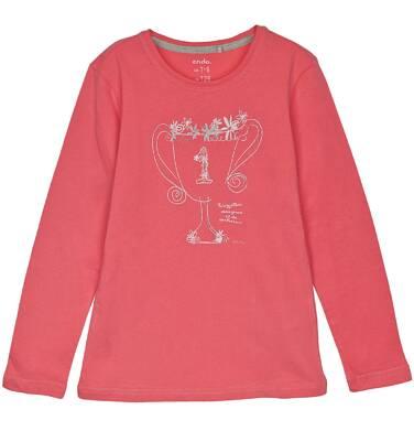 Endo - Bluzka z długim rękawem dla dziewczynki 3-8 lat D62G135_3