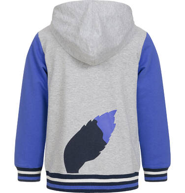 Endo - Rozpinana bluza z kapturem dla chłopca 3-8 lat C92C015_1