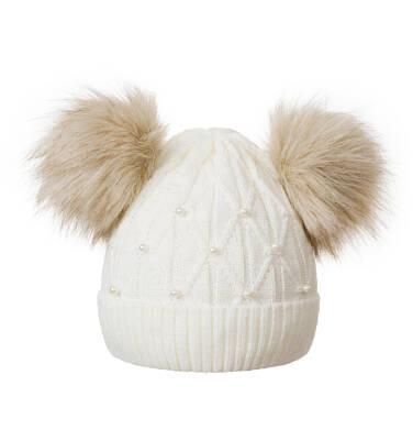 Endo - Czapka zimowa dla dziewczynki D04R039_1 16