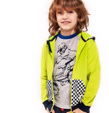 Endo - Bluza rozpinana z kapturem dla chłopca 9-13 lat C91C504_1