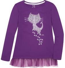 Endo - Tunika z tiulową falbanką dla dziewczynki 9-13 lat D72G532_1