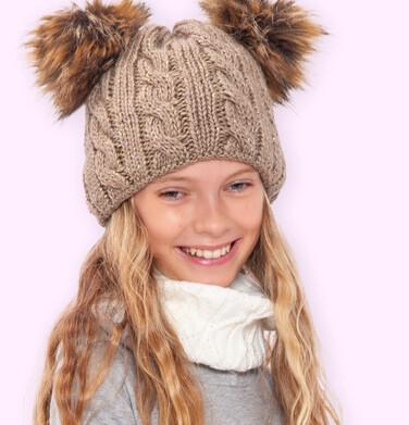 Endo - Czapka zimowa dla dziewczynki D04R042_1 16