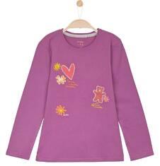 Bluzka z długim rękawem dla dziewczynki 9-12 lat D62G642_2