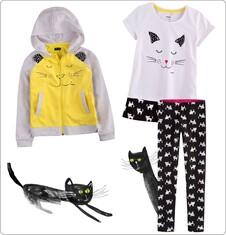 Zestaw dla małej dziewczynki z linii Mam kota D004_M