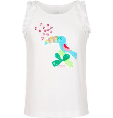 Endo - Top na ramiączkach dla dziewczynki 9-13 lat D91G603_2