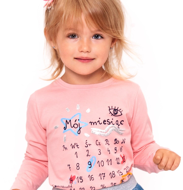Endo - T-shirt z długim rękawem dla dziewczynki 3-8 lat D92G052_1