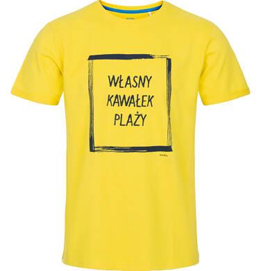 T-shirt męski z krótkim rękawem Q91G015_1