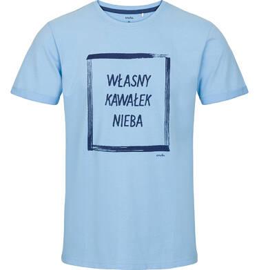T-shirt męski z krótkim rękawem Q91G016_1