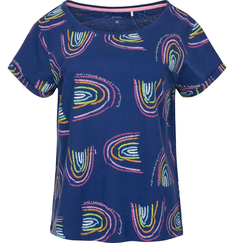 Endo - T-shirt damski z krótkim rękawem Y91G003_1