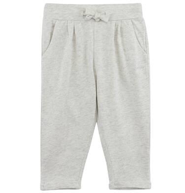 Endo - Dzianinowe spodnie z obniżonym krokiem dla niemowlaka N61K050_1