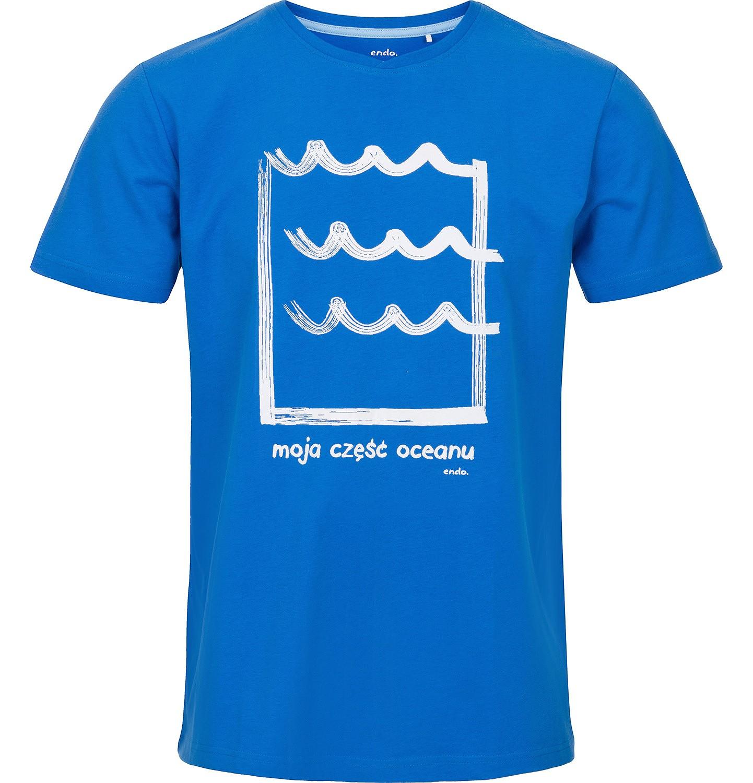 Endo - T-shirt męski z krótkim rękawem Q91G014_1