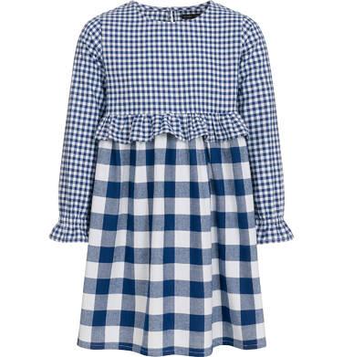 Endo - Sukienka z długim rękawem dla dziewczynki, w kratę, dwukolorowa, 9-13 lat D92H514_1 5