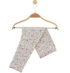 Endo - Melanżowe legginsy w deseń dla niemowlaka N61K041_1