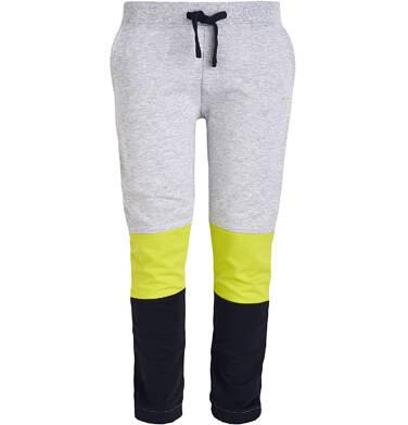 Spodnie dresowe z nadrukiem dla chłopca 9-13 lat C81K517_2