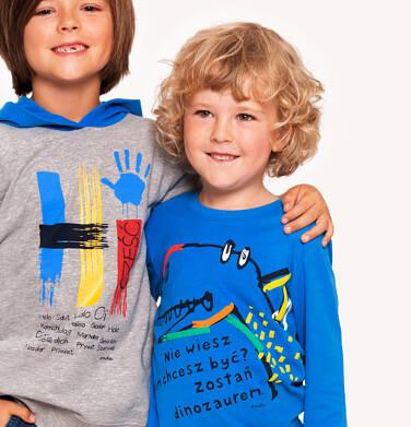 Endo - T-shirt z długim rękawem dla chłopca 3-8 lat C92G010_1