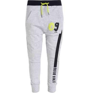 Endo - Spodnie dresowe z kieszenią kangurką dla chłopca 9- 13 lat C81K520_1