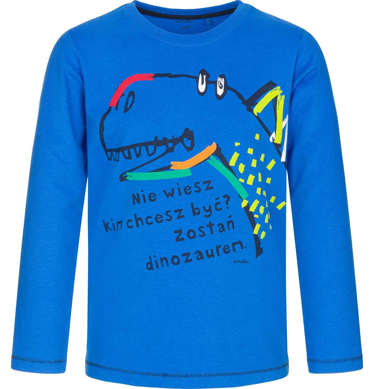 Endo - T-shirt z długim rękawem dla chłopca 9-13 lat C92G510_1