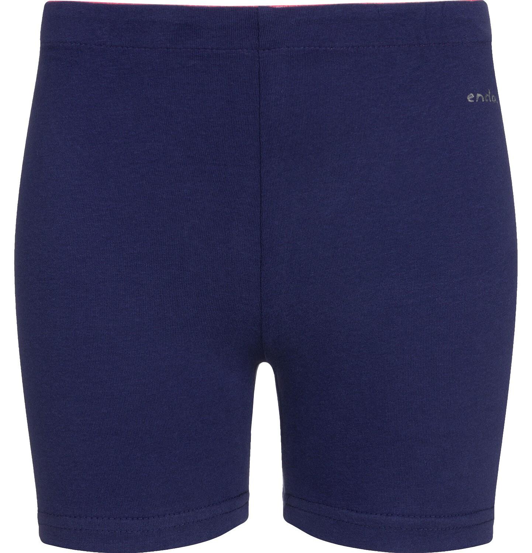 Endo - Krótkie legginsy dla dziewczynki, granatowe, 2-8 lat D03K007_2