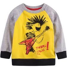 Endo - Bluza dresowa przez głowę dla dziecka 0-3 lata N71C017_1