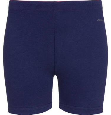 Endo - Krótkie legginsy dla dziewczynki, granatowe, 9-13 lat D03K507_2 6