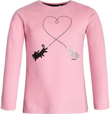 Endo - T-shirt z długim rękawem dla dziewczynki 9-13 lat D82G543_1