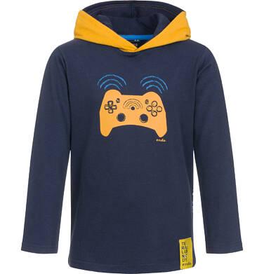 Endo - Koszulka z kapturem i długim rękawem dla chłopca 9-13 lat C92G581_1