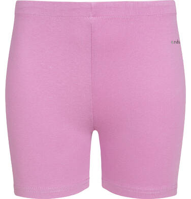 Endo - Krótkie legginsy dla dziewczynki, różowe, 2-8 lat D03K007_3